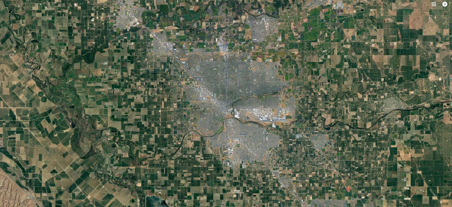 Aerial Modesto